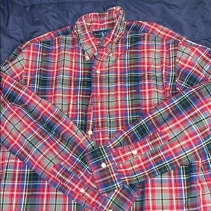 Mens ralph lauren button up